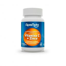 Vitamina C + Zinco 1100mg (60 caps)